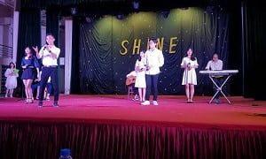 tổ chức thi âm nhạc các trường tại Long Biên và Gia Lâm