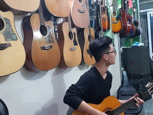phòng học cơ sở 1 guitara