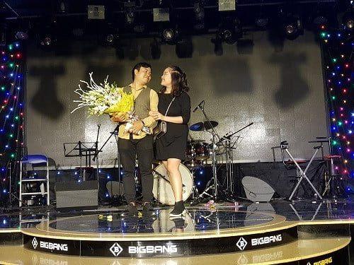 thầy Chu Anh Long và vợ